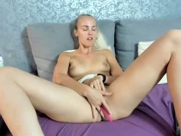 Curious whore blondyelena (Blondyelena) carefully rammed by determined vibrator on adult webcam