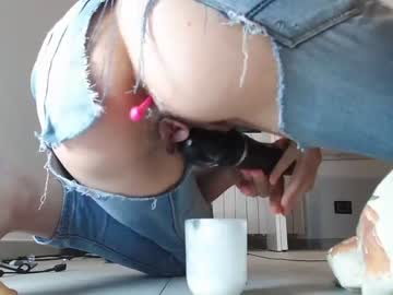 Cautious whore CATTY190 (Catty190) nervously bonks with nasty magic wand on free adult webcam