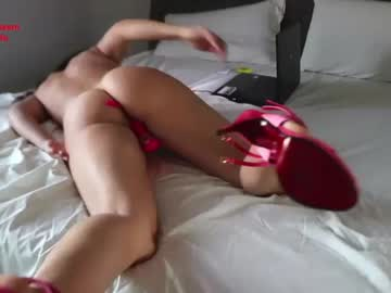 Alive model CATTY190 (Catty190) cruelly penetrated by forceful fist on adult webcam