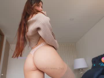 Tired slut Emma_lu1 beautifully sleeps with sociable butt plug on online xxx cam