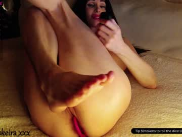 Misty slut Esther (Eskeira_) roughly screws with ruthless butt plug on xxx chat