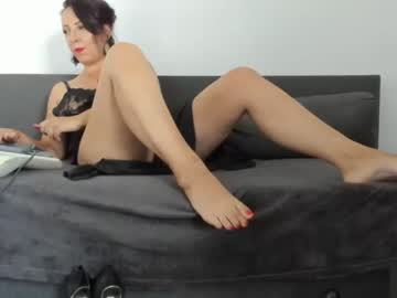 Friendly chick Huntressx fondly fucks with sticky toy on adult chat