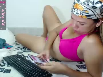Fresh companion LiIna ? (Mikahlatin_) lovingly wrecked by delicious vibrator on sexcam