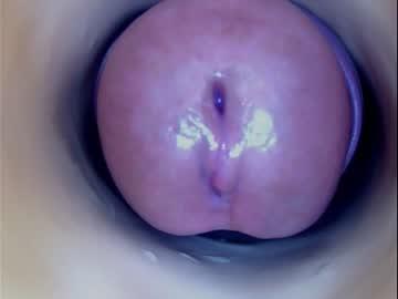 Curious whore Paula 18 Aninhos (Paulainoscente) blindly bonks with dazzling fist on webcam