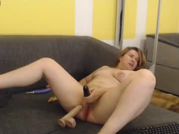 Fresh companion Snowflakec painfully fucked by beautiful fist on live cam