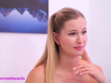 Shy escort Stella Cardo (Stella_and_stephan) ferociously humps with dazzling cock on free adult chat