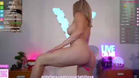 victoriahillova's chat room